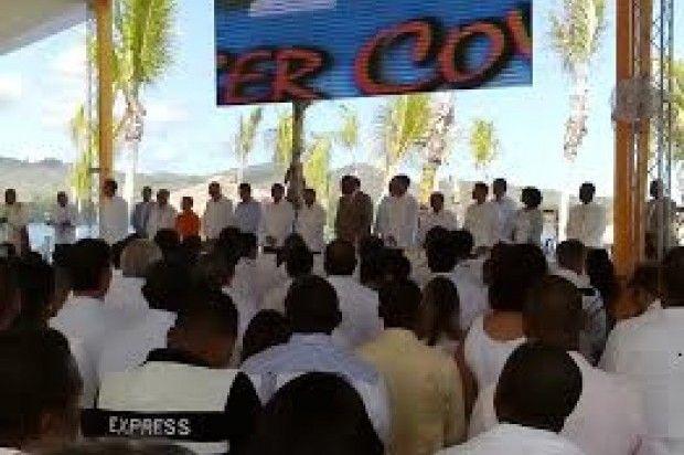 Presidente Medina Inaugura Puerto De Cruceros En Puerto Plata