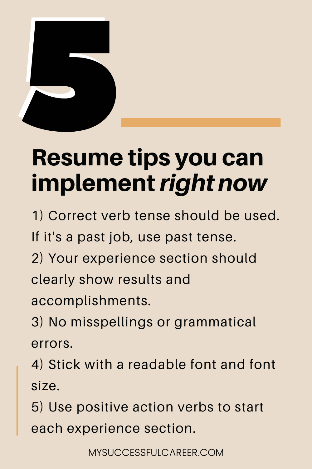 Writing a resume can be very hard work. Knock out some of