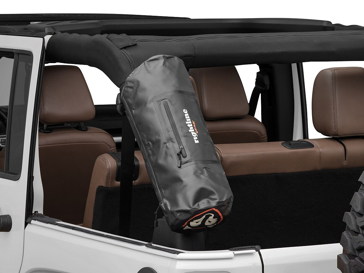 Rightline Gear Roll Bar Storage Bag Black 87 20 Jeep Wrangler Yj Tj Jk Jl Jeep Wrangler Wrangler Accessories Jeep Wrangler Yj