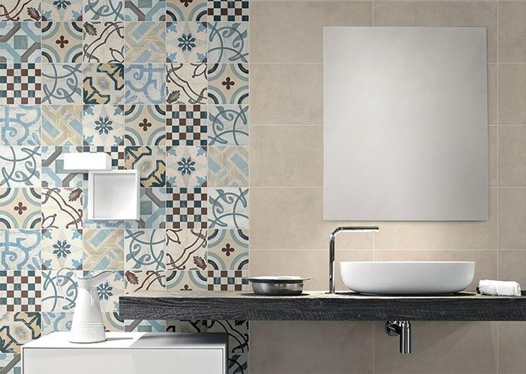 Piastrelle cementine di ceramica fioranese casa da sogno - Piastrelle tipo mosaico ...