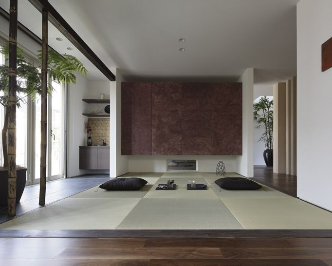 contemporary japanese interior japanese room modern pinterest japanese contemporary. Black Bedroom Furniture Sets. Home Design Ideas