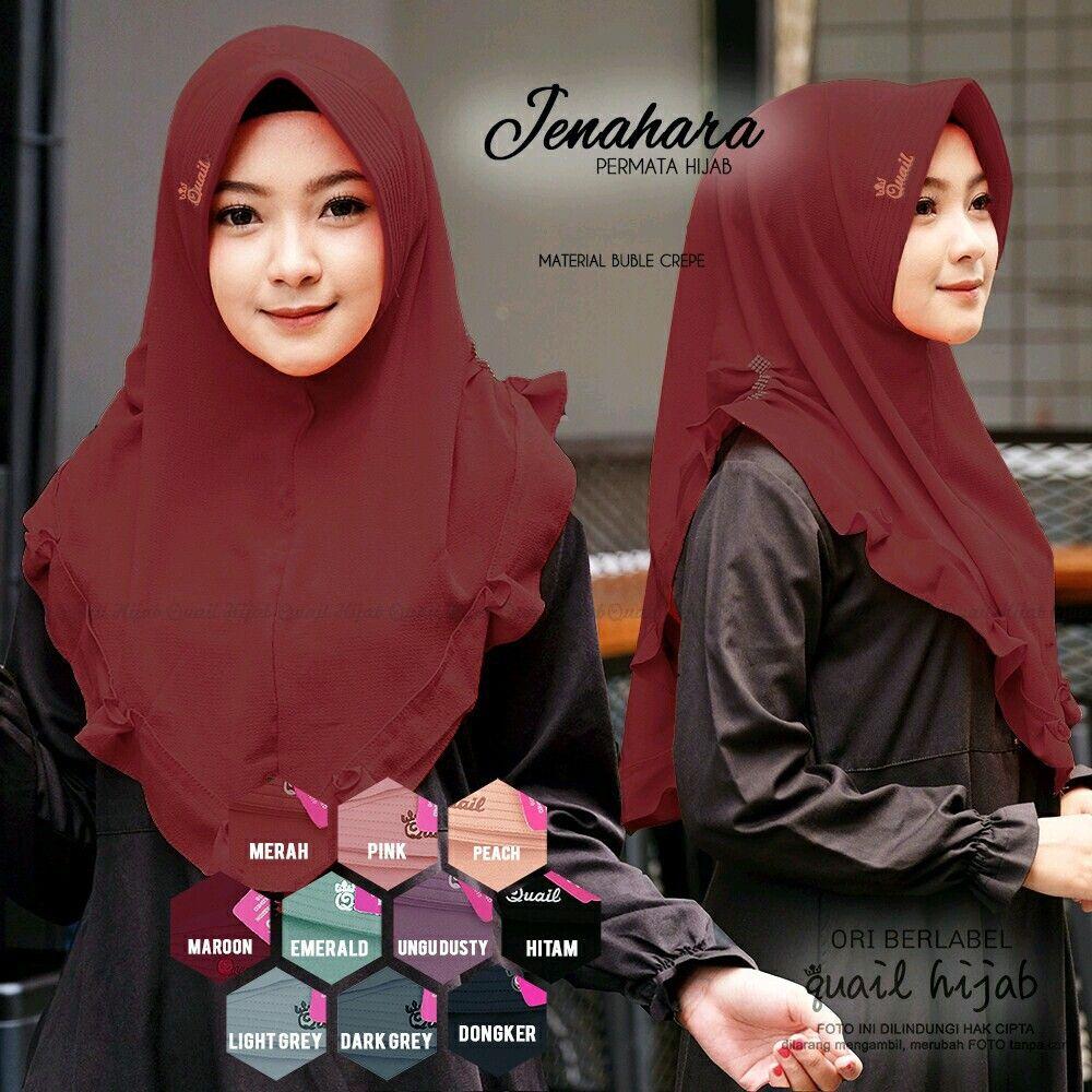Jenahara By Quail Hijab Produk Warna Hijab