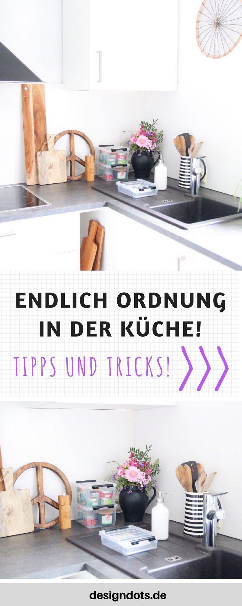 Endlich Ordnung in der Küche: Mit diesen genialen Helfern herrscht nie mehr Chaos! - DESIGN DOTS #kücheideeneinrichtung