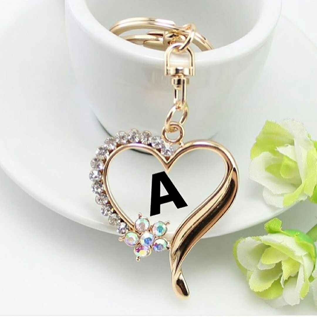 Unstoppablecami Stylish Jewelry Love Heart Images Alphabet