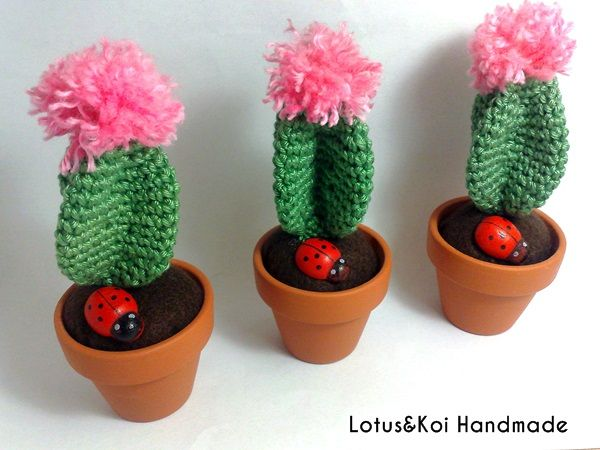 Amigurumi Cactus Tejido A Crochet Regalo Original : Cactus zombie amigurumi hand knitted crochet unique piece