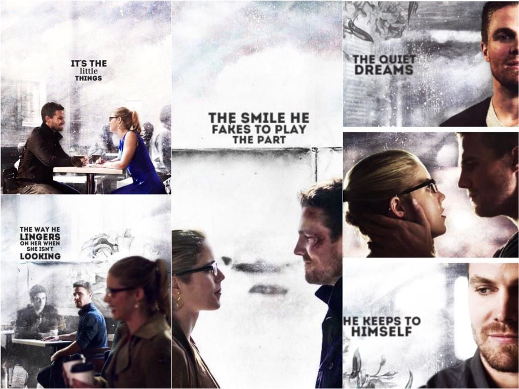 """""""""""It's the little things...""""❤️ #Olicity"""