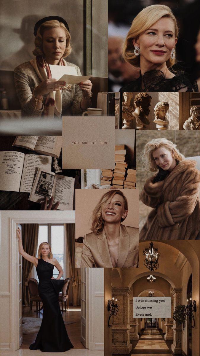 Carol / Cate Blanchett aesthetic wallpaper