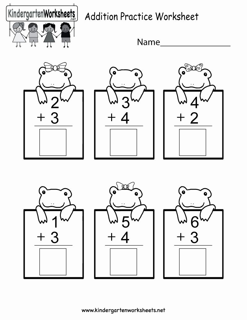 Free Printable Math Worksheets For Kindergarten Kindergarten Math Worksheets Free Kindergarten Addition Worksheets Kindergarten Math Worksheets [ 1035 x 800 Pixel ]