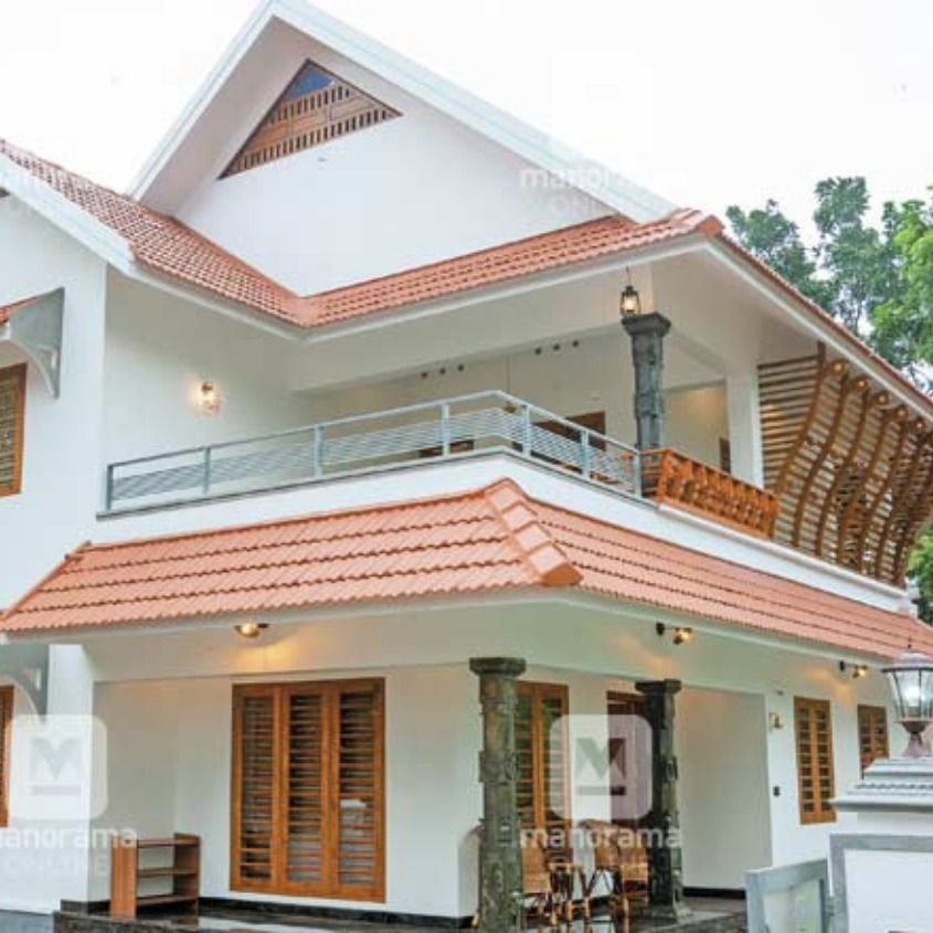 Houzify Home Design Ideas: #ContemporaryHouse #Homestyle #SmallPlotHome 7.5 സെന്റ്