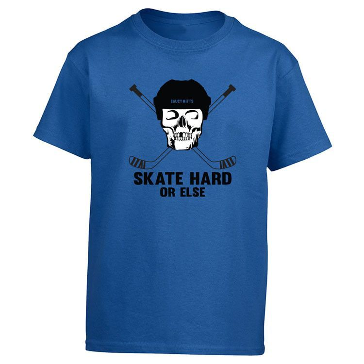 Image by Shutterstock Hockey Word With Silhouettes Men/'s Tee