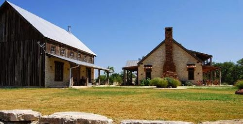 Hill Country Vernacular Architecture Near Texas