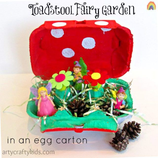 Toadstool Fairy Garden