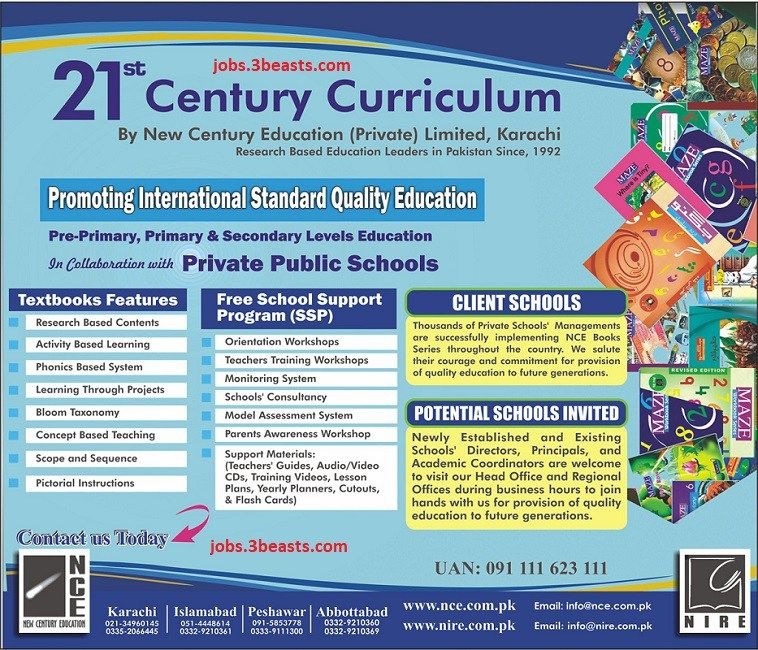 Promoting International Standard Quality Education 21st
