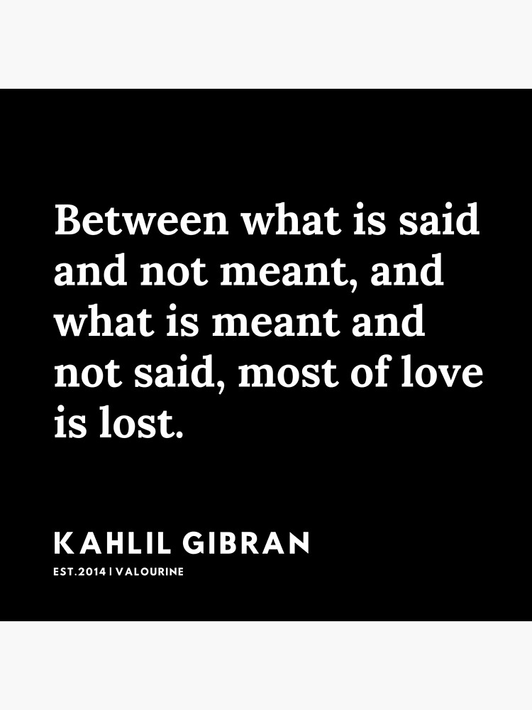 75 |  19119 | Kahlil Gibran Quotes  Poster by QuotesGalore