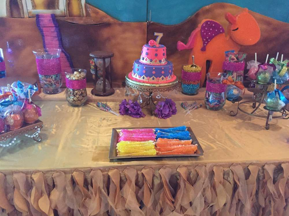 Nariah's Moroccan 7th Birthday   CatchMyParty.com