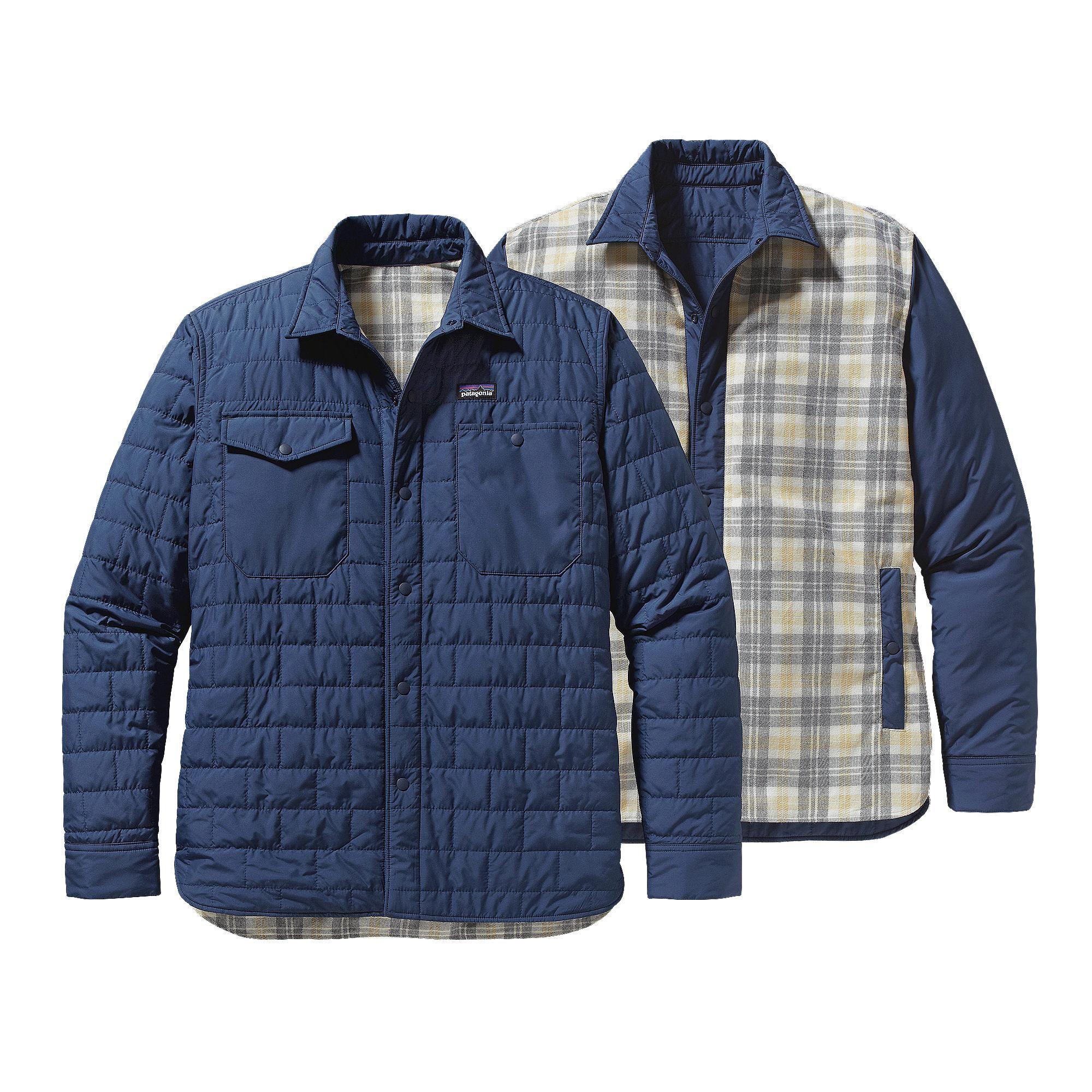 Patagonia Men's Gratio Jacket - Nano inspired shirt-jacket made of ... : patagonia quilted jacket - Adamdwight.com