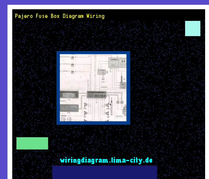 Pajero Fuse Box Diagram Wiring  Wiring Diagram 175445