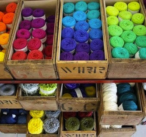 Charmant DIY Yarn Storage Ideas