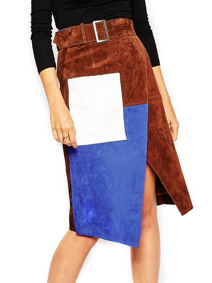 Must-Have: The Coolest Wrap Skirt via @WhoWhatWear