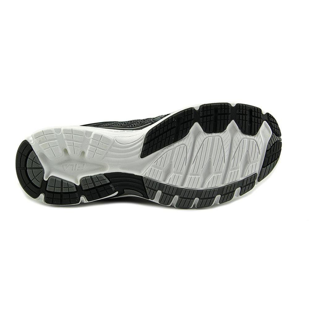 Fila Women's Reckoning 7 Castlerock/Black/Metallic Silver Sneaker 8.5 B (M)