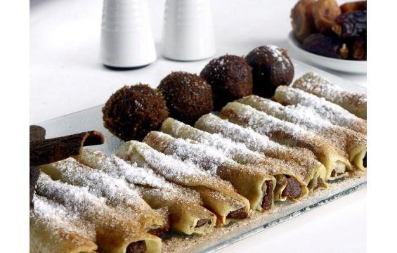 كريب التمر Ramadan Desserts Desserts Krispie Treats