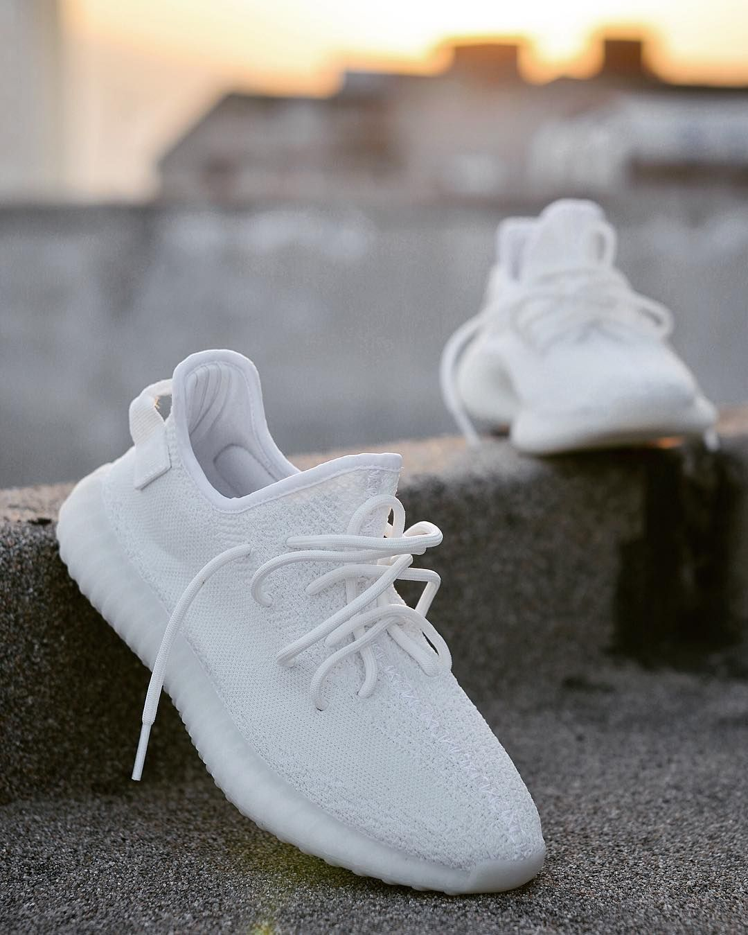 cdaa57a6d8182 Womens size the best Adidas Yeezy Boost 350 INFANT Triple   Cream White UA  sneakers