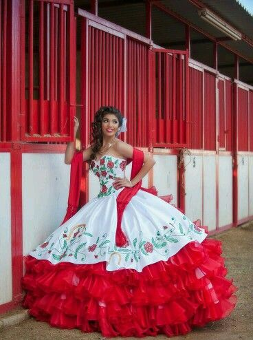 29d79cb4ad57d A cute Mexican dress for a 15 year old girl | dress #3 | Mexican ...