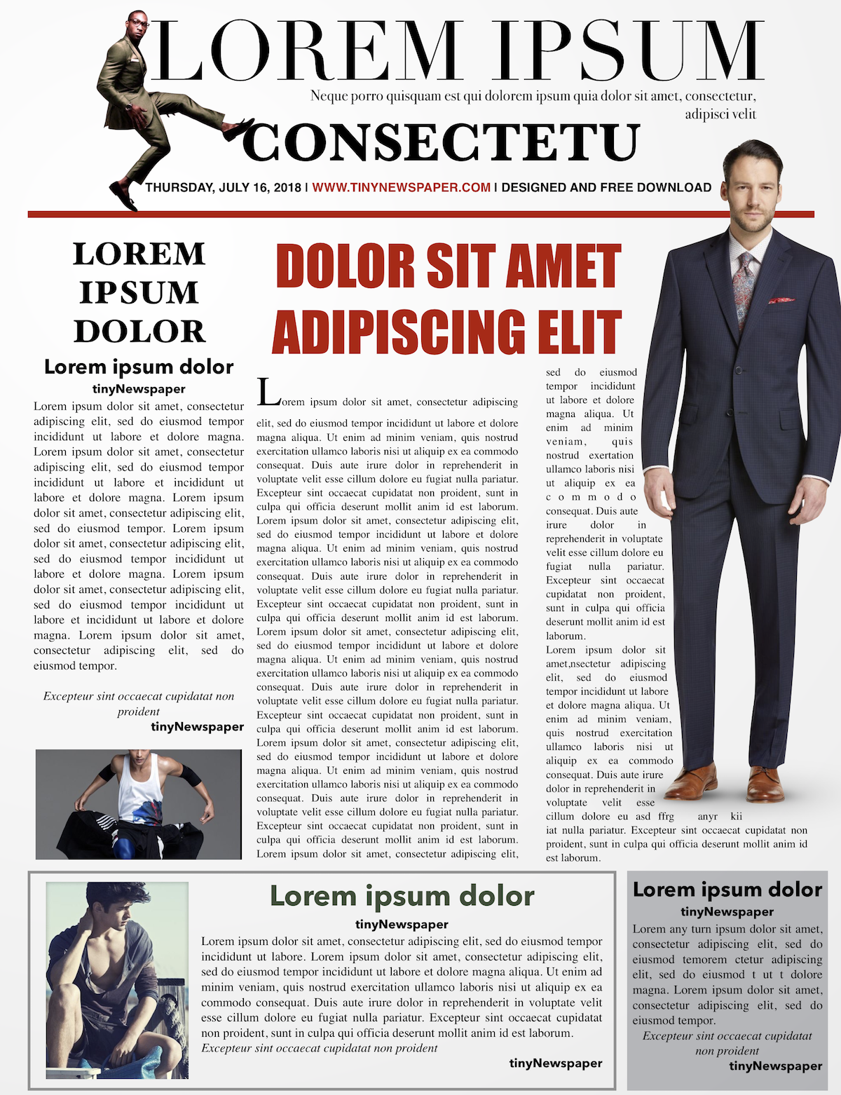 Editable Newspaper Template Newspaper Outline Newspaper Front Page