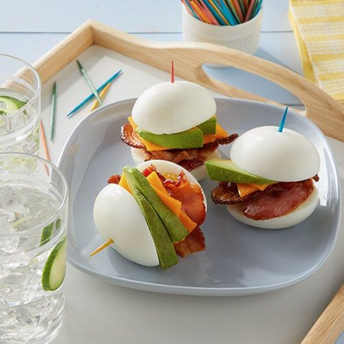 Keto Hard-Boiled Egg and Bacon Sandwich - Dillons Food Stores