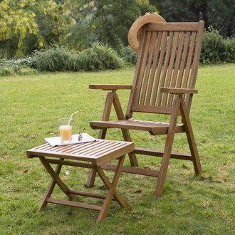 En teck traité avec des produits naturels à base d\'eau, le mobilier ...