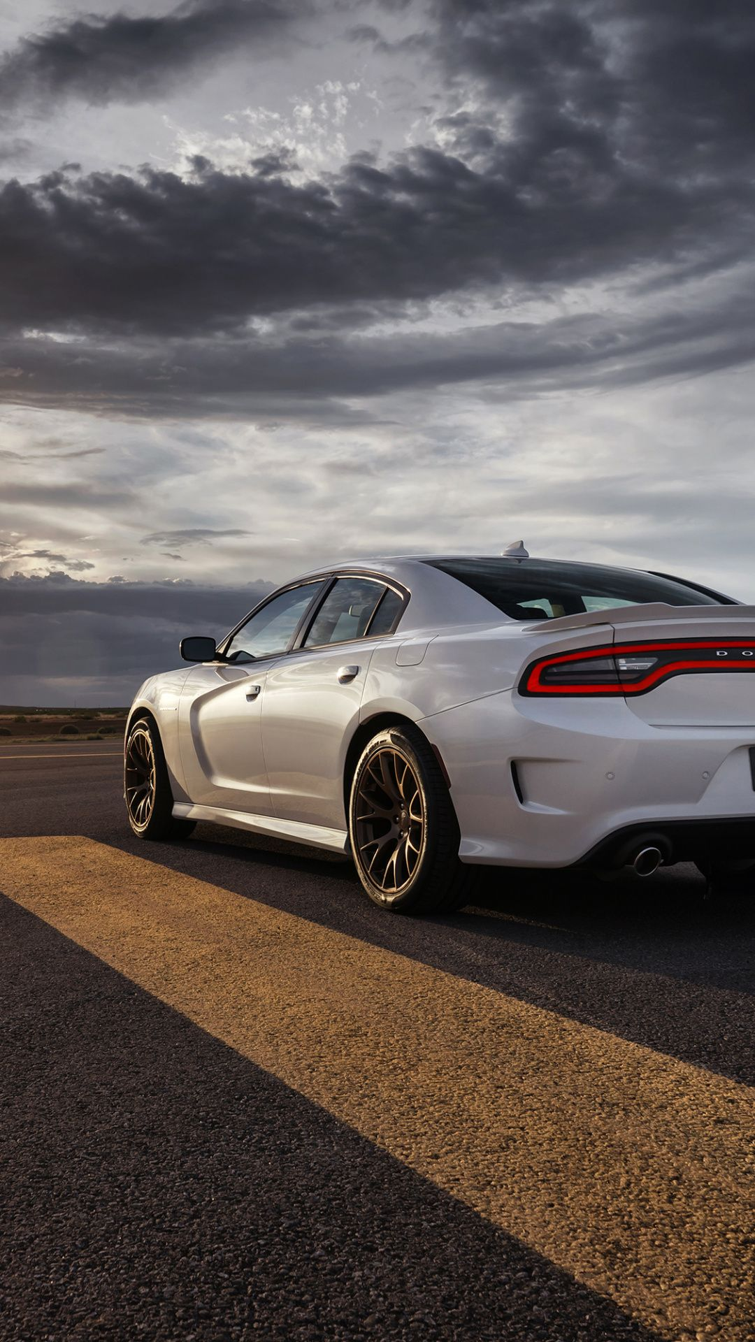Wallpapers hellcat, sportscar, dodge, car, witch Dodge