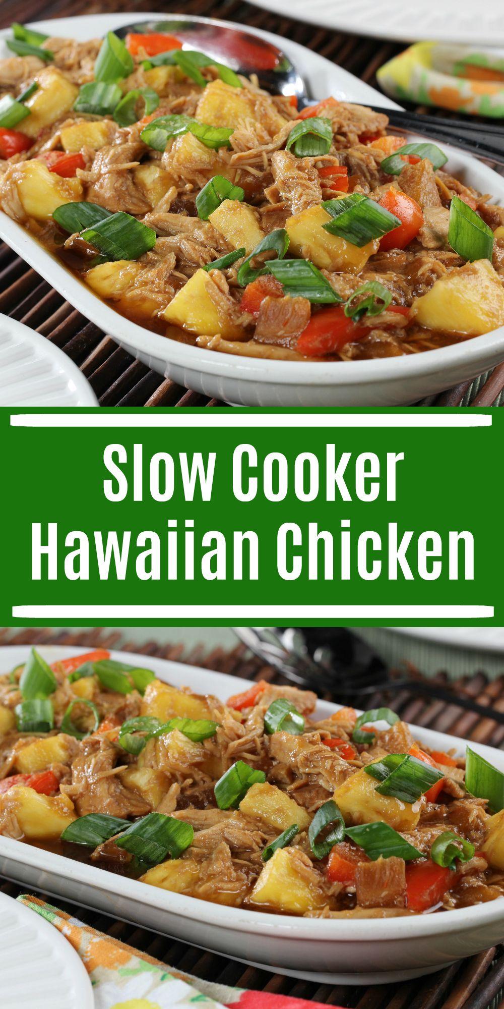 Slow Cooker Hawaiian Chicken Recipe Everyday Diabetic Recipes