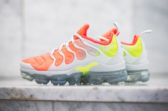 8cd02cc817c Nike WMNS Air VaporMax Plus Reverse Sunset Arriving This Week