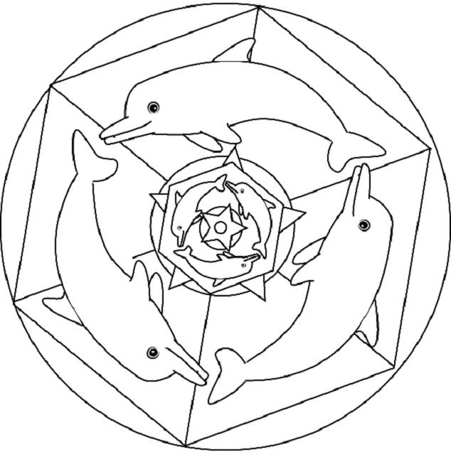 dolphin mandala coloring pages animal mandala coloring pages mandala coloring coloring pages. Black Bedroom Furniture Sets. Home Design Ideas