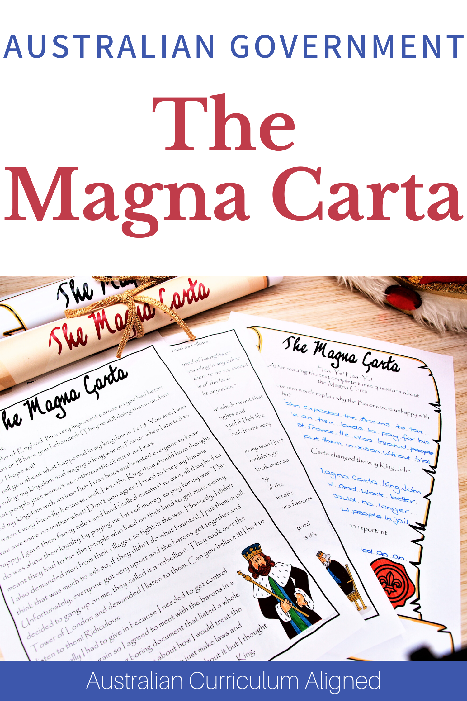 Magna Carta Worksheet   worksheet