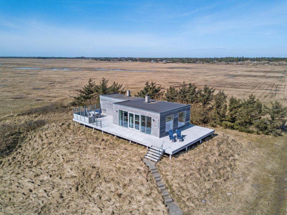 Einzigartiges Ferienhaus mit Meerblick in 1A Lage in