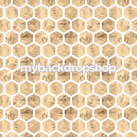 5ft x 5ft Honey Comb Marble Geometric Photography Backdrop - Gray and White Marble Floor Backdrop for Product Photography - Item 3110 #whitemarbleflooring