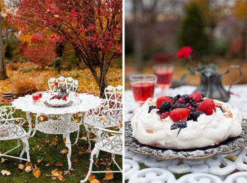 La Pavlova con crema di limone, e Bacche - Il Dessert vacanza perfetta e un giveaway!
