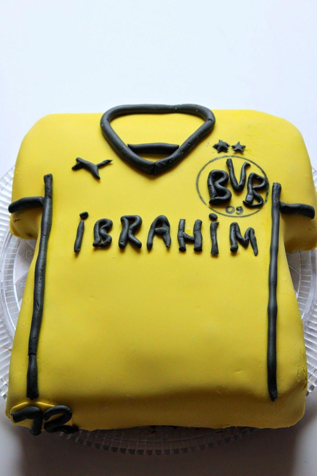 Nesrins Torten Dortmund Trikot Torte  Borussia Pin
