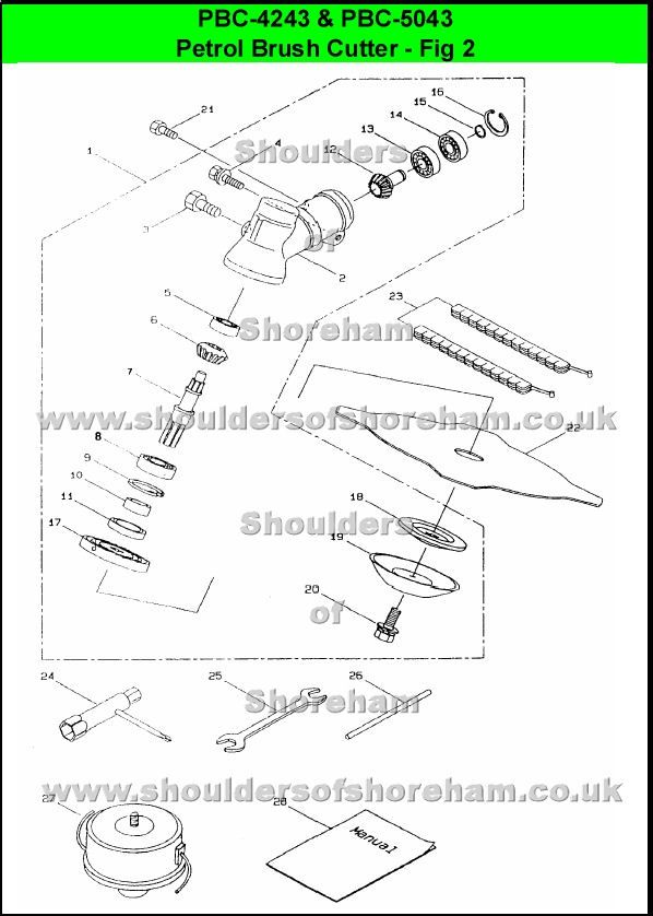 Ryobi Tiller Fuel Line Diagram Edible Parts Of A Plant Pin 990r On Pinterest Wiring Diagrams Pbc4243 Pbc5043 Trimmer Brushcutter Rh Com Routing Cultivator 410r Hoses
