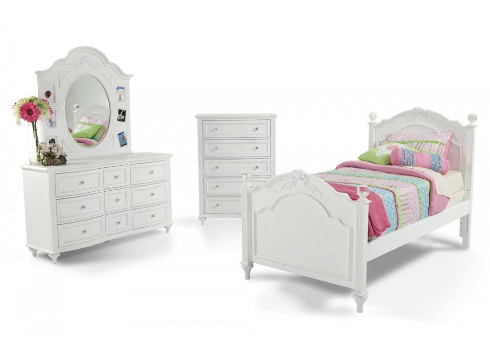 Madelyn 7 Piece Full Youth Bedroom Set | Kids Bedroom Sets ...