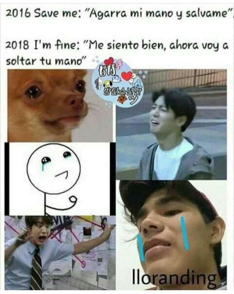 Memes Kpop Bts En 2018 Pinterest Oppas Bts Y Kpop