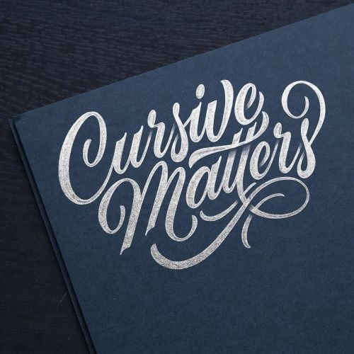 Work By Hamrick Typography Betype Lettering Handlettering Calligraphy LettersTypography LettersCursive