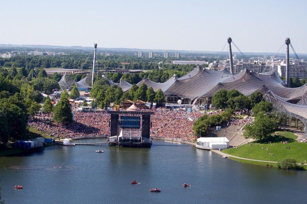 Estádio Olímpico de Munique / Frei Otto & Gunther Behnisch