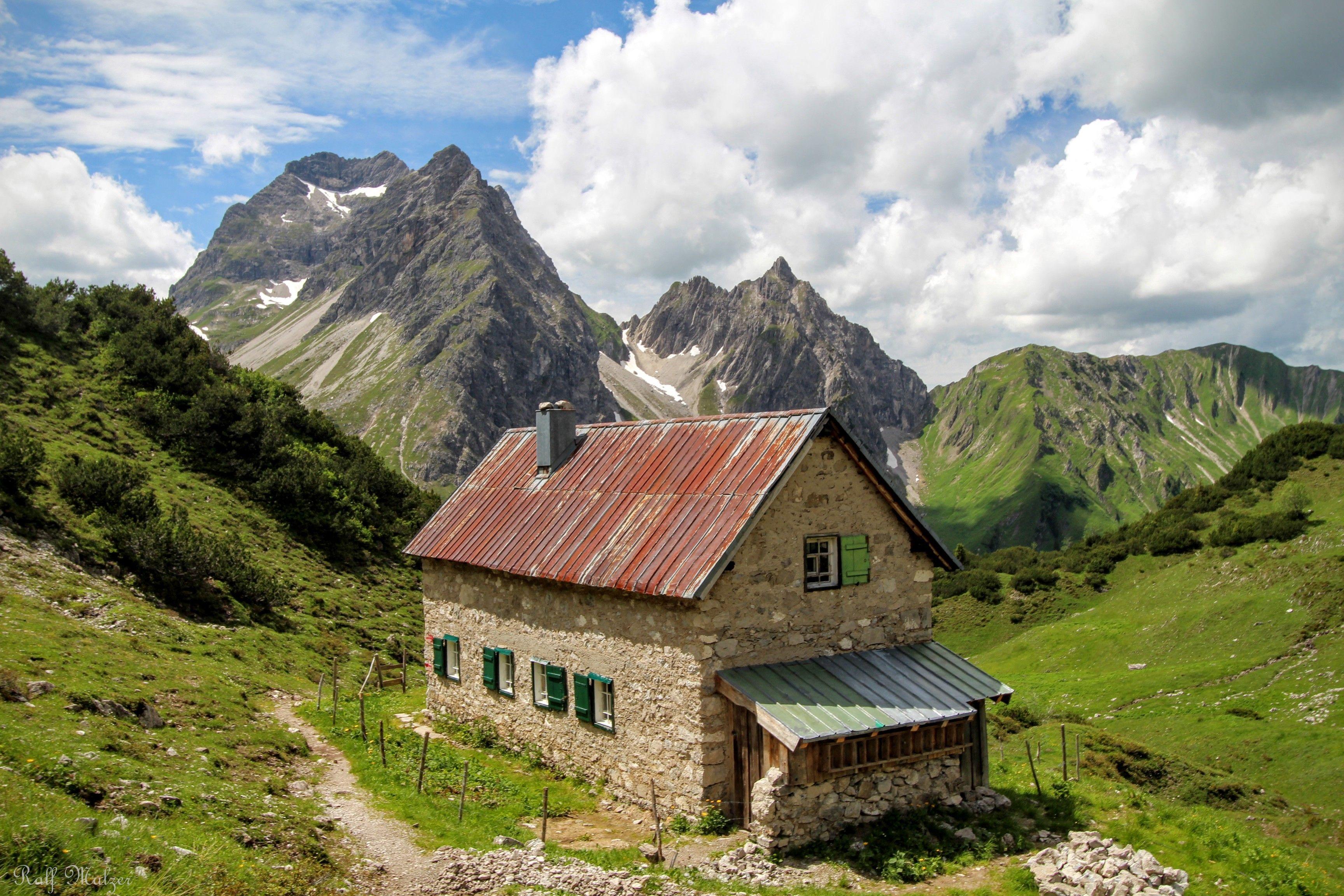 Sterzer Hütte in Mittelberg Kleinwalsertal Austria
