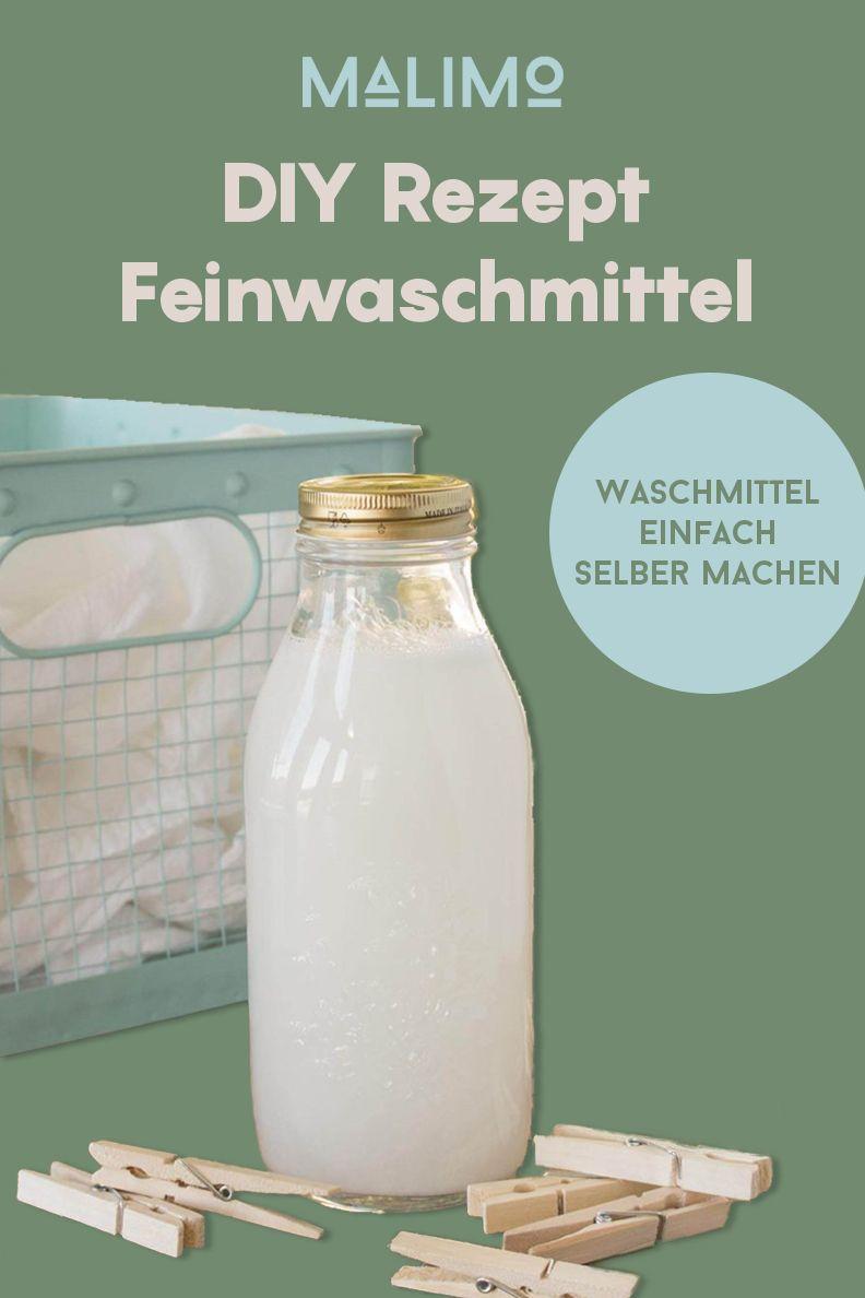 DIY Feinwaschmittel selber machen - So einfach geht's