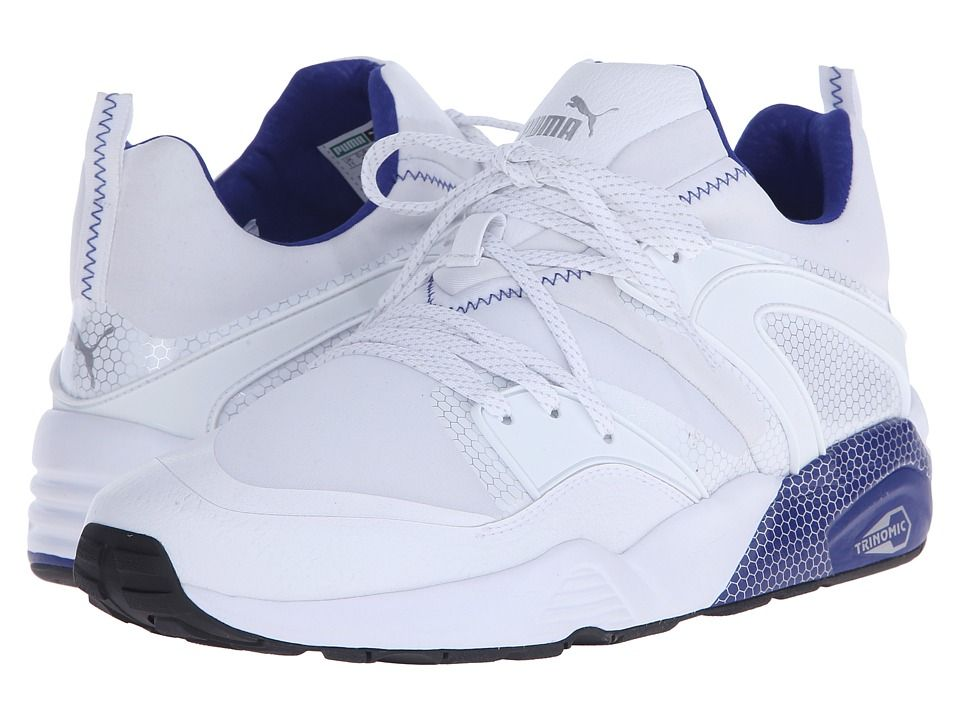 PUMA PUMA - BLAZE OF GLORY CORE (WHITE/SURF THE WEB) MEN'S RUNNING
