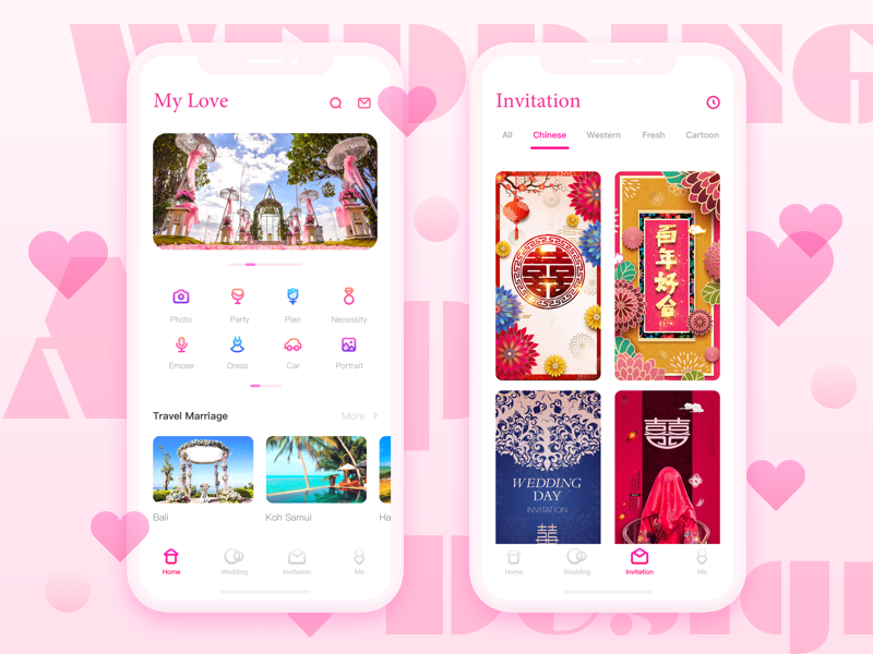 Wedding App Design App Design Wedding Apps Design