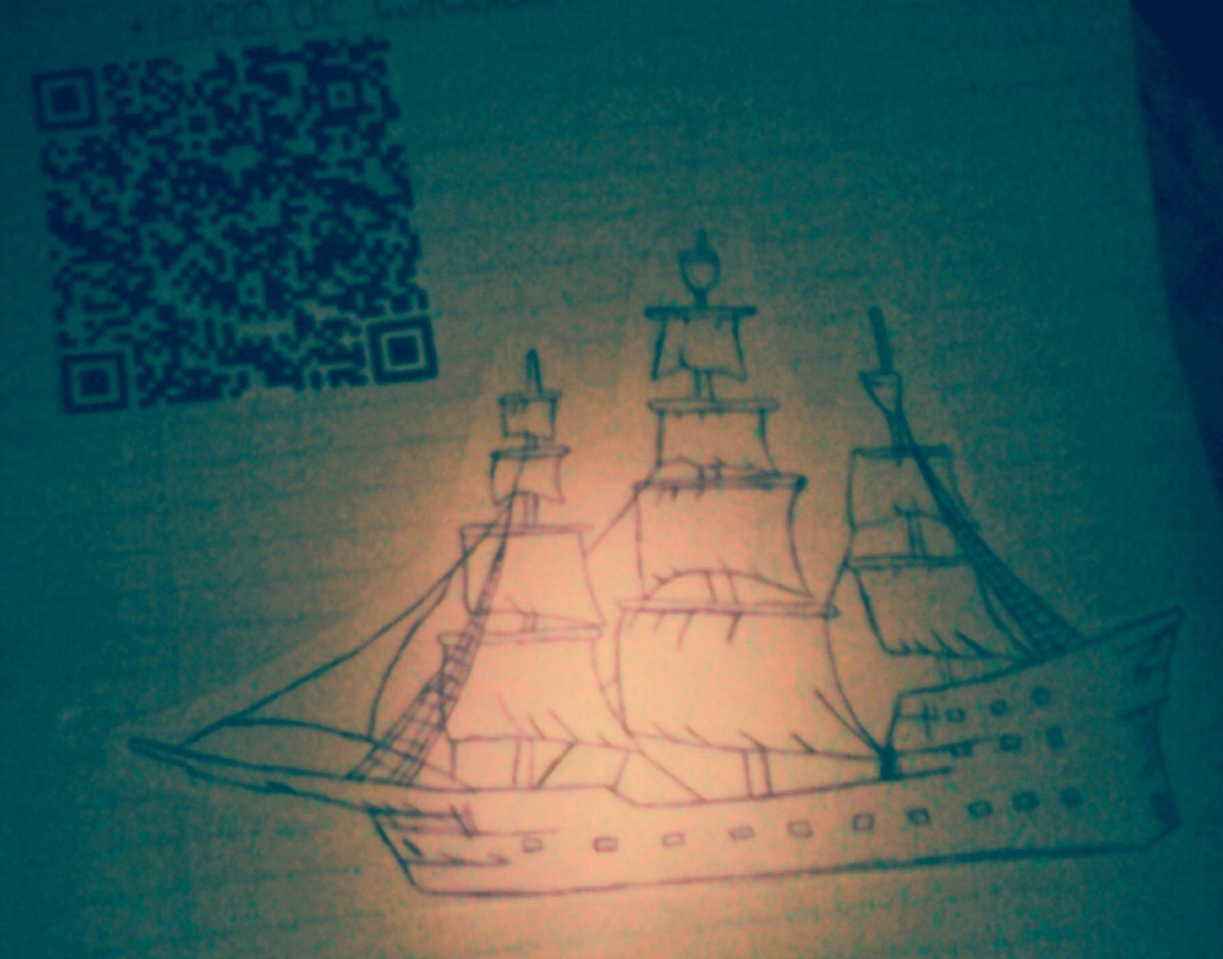 Esta Fue El  Dibujo Con El Codigo Qr