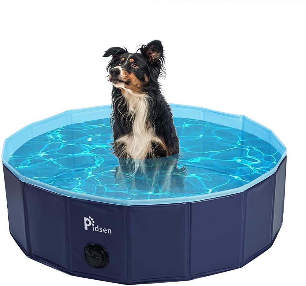 Pidsen Hundepool Swimmingpool Pvc Tragbare Faltbare Hunde Katzen Bad Wanne Badewanne Waschbad Haustier Schwimmbad Wasser Teic In 2020 Katzen Bad Swimmingpool Hundepool